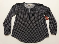 Faded Glory Womens Top Size Small 4-6 Blouse Blue & White & Red Long Sleeves NEW #FadedGlory #PulloverBlouse #Casual  ..... Visit all of our online locations ..... (www.stores.eBay.com/variety-on-a-budget) ..... (www.amazon.com/shops/Variety-on-a-Budget) ..... (www.etsy.com/shop/VarietyonaBudget) ..... (www.bonanza.com/booths/VarietyonaBudget ) .....(www.facebook.com/VarietyonaBudgetOnlineShopping)