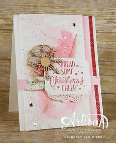 On the Blog || Artisan Hop! Be inspired by the Stampin' Up! Artisan team using the Tin of Tags Project Kit! Amazing projects! #stampinup #creative #creativity #handmade #christmas