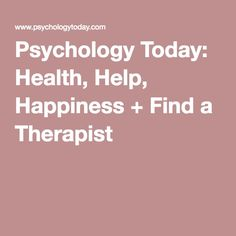 Psychology Today: Health, Help, Happiness + Find a Therapist Teenage Brain, Iep Meetings, Mental Health Issues, Psychology Today, Holistic Approach, Human Mind, Good Habits, Psychiatry, Brain Health