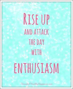 Inspiration to start your week off with enthusiasm and positivity. Motivation Monday Quote & Weekly Goals to inspire you this week before the holidays.