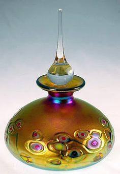 Flower Cane Perfum Bottle  by Robert Held