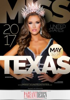 We are thrilled to have designed the official Program Book cover for MISS TEXAS UNITED STATES for the second consecutive year! Only this time it is MISS UNITED STATES 2016 herself, Alayah Benavidez, gracing the front page! A BIG THANK YOU to Director Tanice Smith and her team for entrusting us with this great opportunity, and congrats again to Alayah! We are proud to be part of the United States Pageant family! For much more info on the Pageant, check out http://www.misstxunitedstates.com…