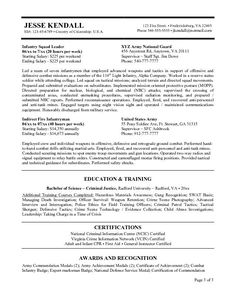 federal government resume example httpwwwresumecareerinfofederal - Sample Of Government Resume