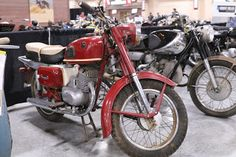 OldMotoDude: 1960 Voskhod 175 sold for $1,100 at the 2020 Mecum... Grand National, Motorcycle Leather, Baboon, Moto Guzzi, Street Bikes, Vintage Motorcycles, Mustang, Auction, Retro