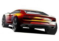 Audi Nanuk quattro Concept - Design Sketch