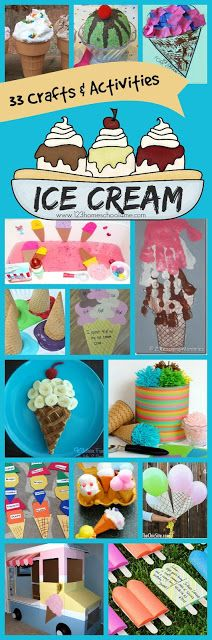 33 Ice Cream Crafts Kids Activities