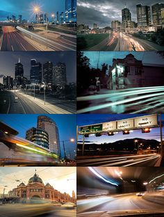 Traffic Long Exposures