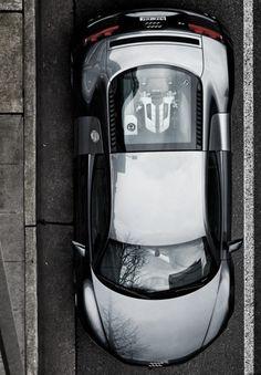 Bird's-eye #Audi #R8 GT