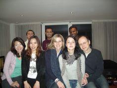 Londra, EC School, con i miei amici 2010