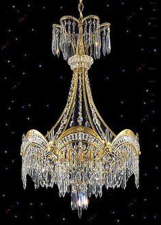 Victorian Crystal Chandelier - Squittis