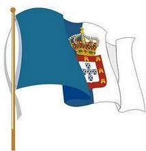 Portuguese monarchist flag (bandeira monarquica portuguesa)