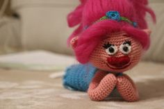 Amigurumi Troll Poppy - PDF PATTERN - iremdesign. This is a Troll Poppy crochet amigurumi pdf