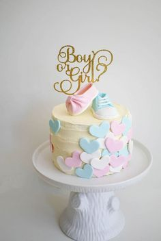gender reveal cake ideas
