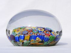 Murano millefiori glass paperweight by art-of-glass, via Flickr