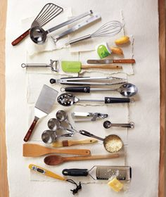 All you need in your utensil drawer- good shower idea.  Real Simple. I've got a friend in need of a utensil drawer upgrade!