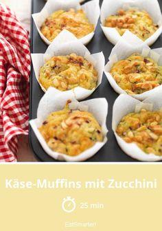 Käse-Muffins mit Zucchini | eatsmarter.de #zucchini #muffin #käse