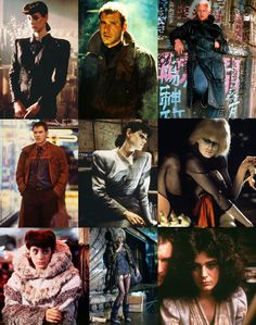 Scenes/characters from  ...Blade Runner.