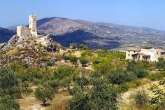 Castillo de Penella, Cocentaina, Alicante, Comunidad Valenciana, Spain