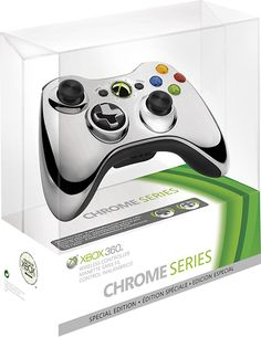 Special Edition Chrome Series Wireless Controller for Xbox 360