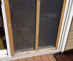 Protect Your Screen Door From Your Dog.
