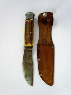 Vintage Schrade Usa Uncle Henry Lb 8 Papa Bear Folding