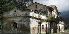 Image result for casa en ruinas cundinamarca Mansions, Architecture, House Styles, Image, Ruins, Trains, Parking Lot, Buildings, Colombia