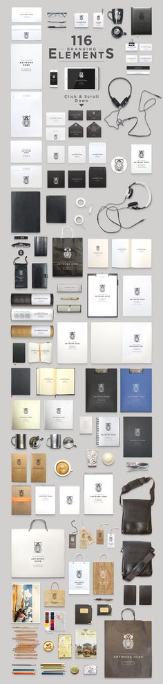 Header Stationery Scene Generator - Ready to DOWNLOAD