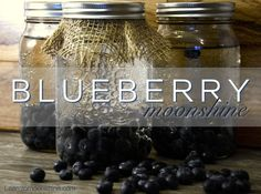 This is a great recipe to make homemade blueberry pie moonshine! Best of all it would make a great gift.