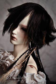 Невероятные парики для кукол БЖД от: Amadiz Studio!