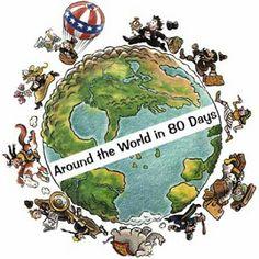 """EL BLOG ENCANTADO: Proyecto: La vuelta al mundo """"en 80 días"""""""