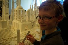 Lego at Dunedin Public Art Gallery