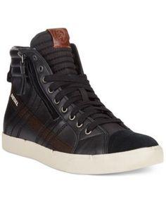 613dbeb42c128 Diesel D-Velows D-String Hi-Top Sneakers Men s Shoes