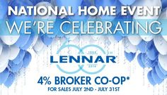 LOS ANGELES AREA BROKERS - Don't Miss Lennar's National Home Event and your Opportunity for 4% Broker Co-op For You - HUGE Incentives For Your Clients at 5112 Melrose in Hollywood  http://www.houseofe-blast.com/LennarMelrose/NationalHomeEventLA.html
