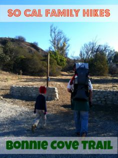 Southern California Hiking with the family - Bonnie Cove Trail in Glendora