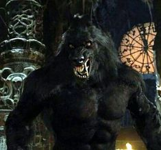 Van Helsing werewolf, a. my favorite movie werewolf ever! <--- Got dem ol' Anubis ears. Fantasy Creatures, Mythical Creatures, Van Helsing Werewolf, Dark Fantasy, Fantasy Art, Werewolf Art, Creepy, Howl At The Moon, Vampires And Werewolves
