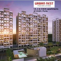 Urban Nest - 1.5, 2 & 3 BHK Residential Apartments by VTP Group at Undri, Pune. To know more Visit: http://www.puneproperties.com/urban-nest-residential-apartments.html #PuneProperties #FlatsinPune #ApartmentsinPune #FlatsinUndri #ApartmentsinUndri #VTP