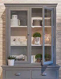 Modulo con vetri colore grigio chiaro