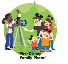 Tip: Use Disney PhotoPass Service whenever possible.  This way you will have photo proof that the entire family was on vacation. http://di.sn/b7x  #DisneyMemories