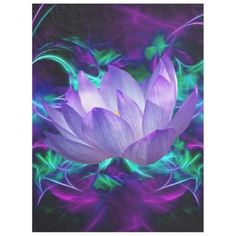 Purple lotus flower and its meaning fleece blanket