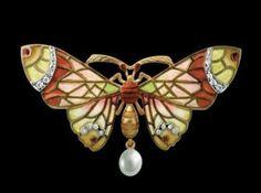 Art Nouveau jewellery by Lluis Masriera