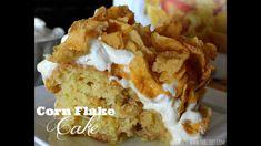 Recipe for making cornflake cakes Cake Icing, Cupcake Cakes, Cupcakes, Cornflake Cake, Cornflake Recipes, Just Desserts, Dessert Recipes, Sweet Desserts, Corn Flakes