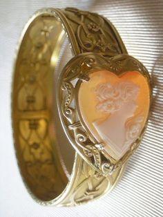 Art Deco Cameo Bracelet