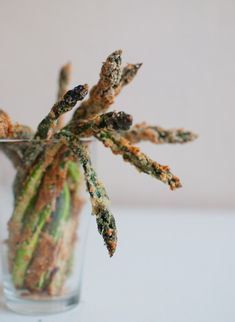 Parmesan Crusted Asparagus.