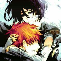 Bleach Kurosaki ichigo,kuchiki rukia Love