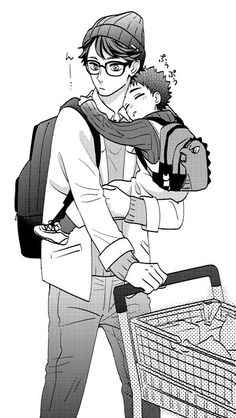 Um, Oikawa with glasses? Sign me the f*ck up!!