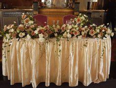 ニューオータニ様の装花 スペンド ア ライフタイム : 一会 ウエディングの花