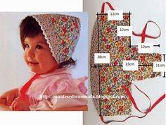 Little Girls Sun Bonnet.  Free Pattern.