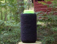 Nalgene Bottle Cozy Solid Black by LoopyDreams on Etsy