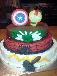 Superhero cake by younique taste