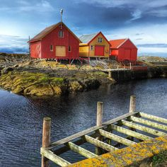 Grip Island in Norway